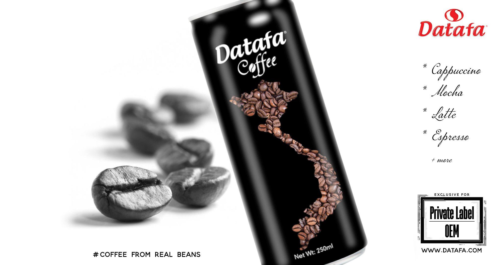 Datafa coffee drinks for private labellingoem real