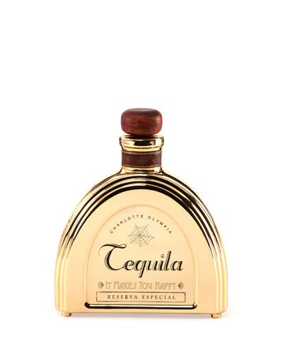 Charlotte Olympia It Makes You Happy Tequila Bottle Clutch Bag