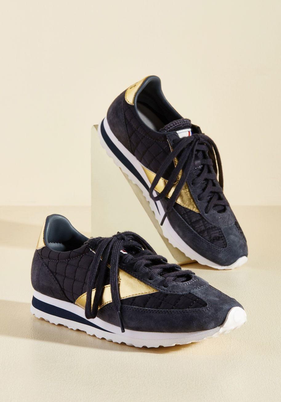 Espresso of Interest Sneaker in Midnight Shoes, Metallic