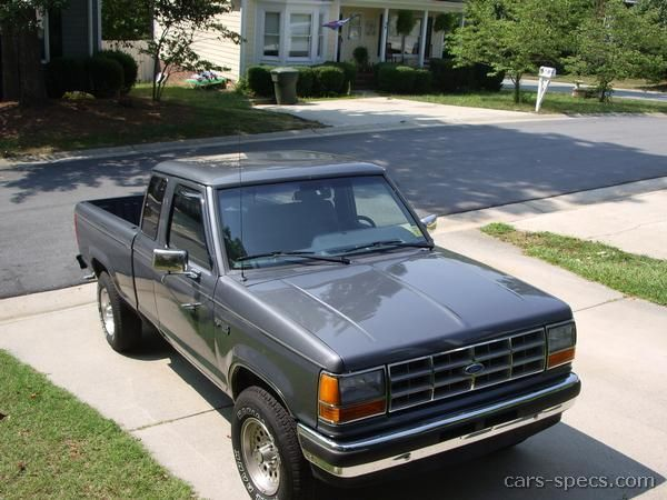 1991 Ford Ranger Extended Cab Specifications Pictures Prices