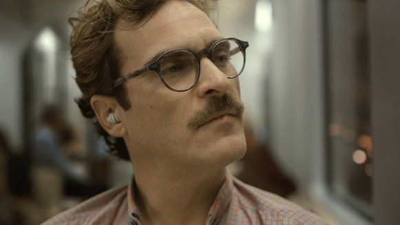 "Jaquin Phoenix as Theodore Twombly in ""Her"" by Spike Jonze"