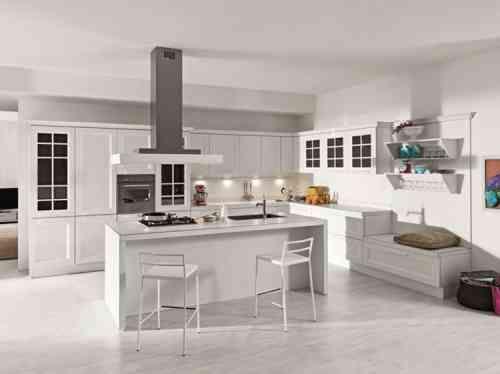 Aménager une cuisine design avec ilot central Construction