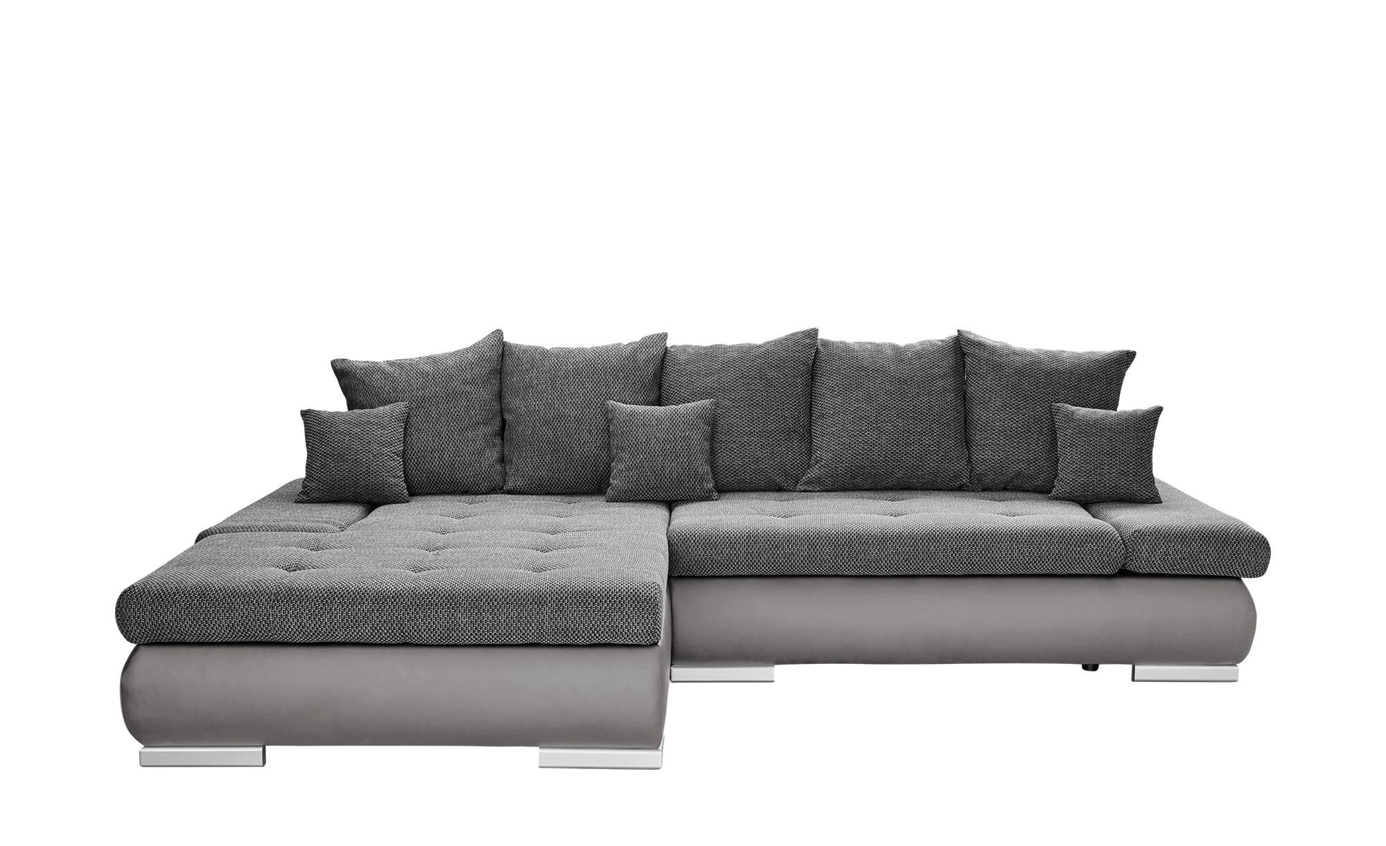 Switch Eckcouch Grau Kunstleder Webstoff Ivan Eckcouch Couch Und Eckcouch Mit Schlaffunktion