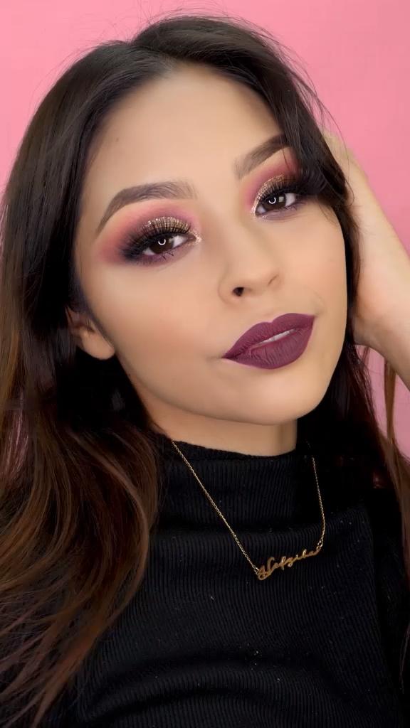 20 Looks de maquillaje para fiesta en invierno; ¡llegan las sombras en tonos púrpura!