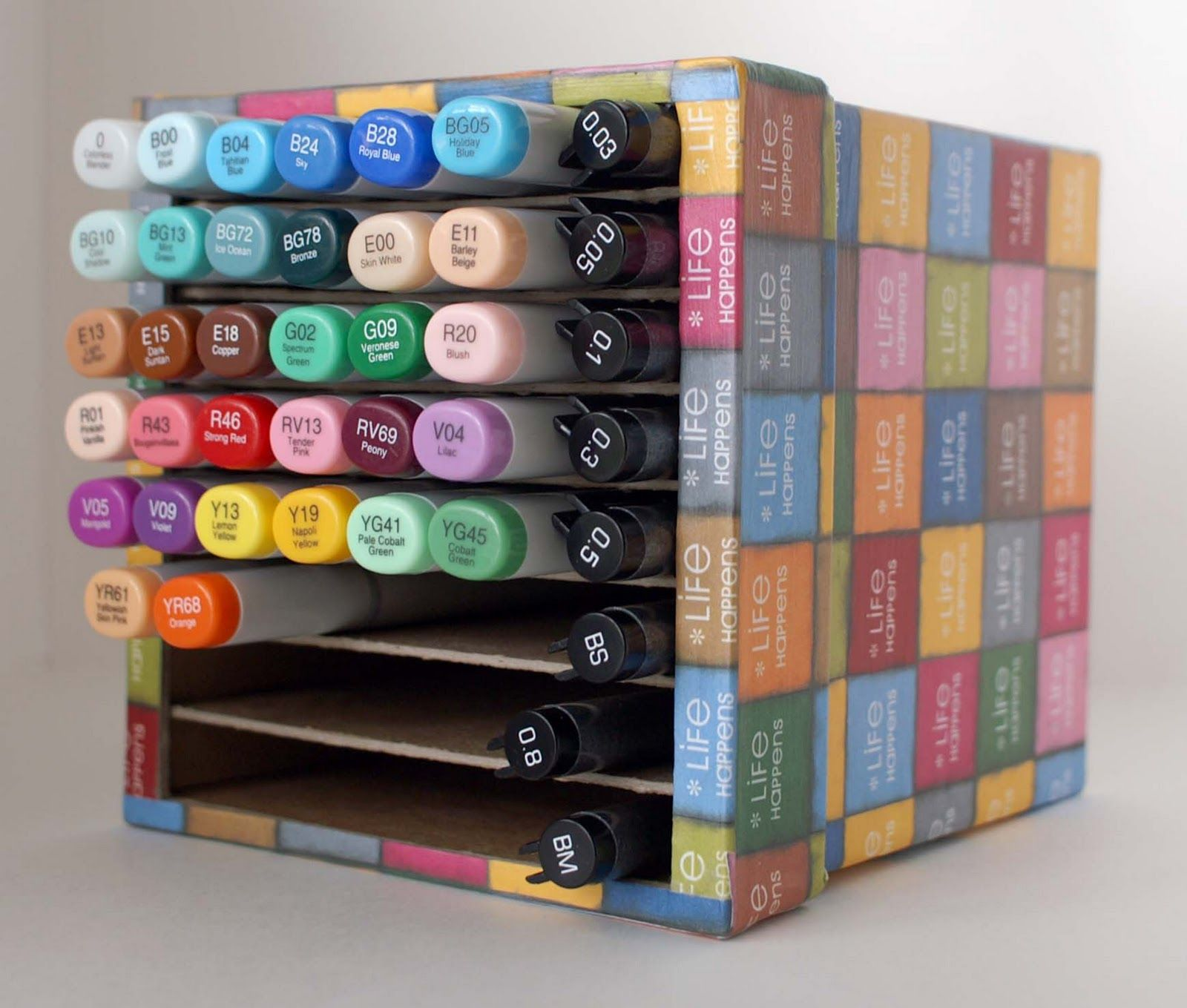 Very Cool Way To Store Copic Markers Nice Idea Marker