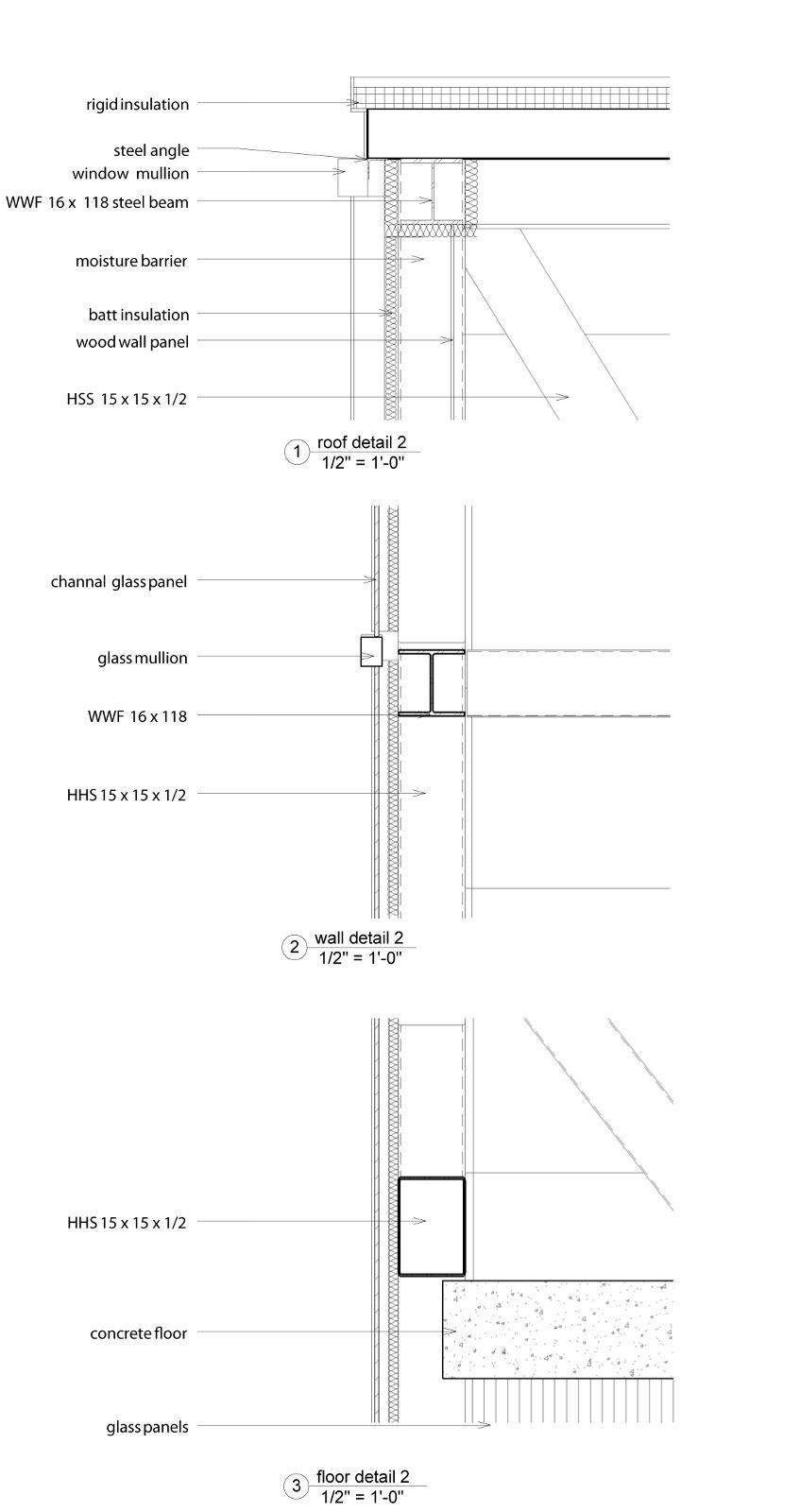 Bim Modeling Liz Lessig Roof Detail Batt Insulation Bim Model