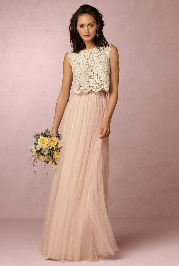 BHLDN Cleo Top Louise Tulle Skirt | Festliche kleider ...