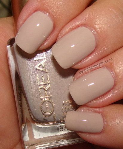 L'Oreal London Fall 2012 Colour Riche Nail in Tea and Crumpets