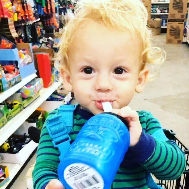 🥤🥤🥤 #nightrides #shopping #inourpjs #boys #motherhood #nothingbetter #blon...