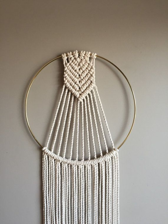 ARROWHEAD Macram Dreamcatcher//Wall Hanging Boho Hippie ...