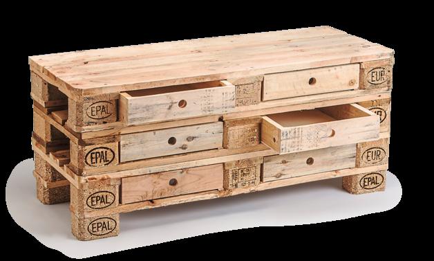Sideboard Aus Paletten kommode mit schubladen aus europaletten sideboard tv rack