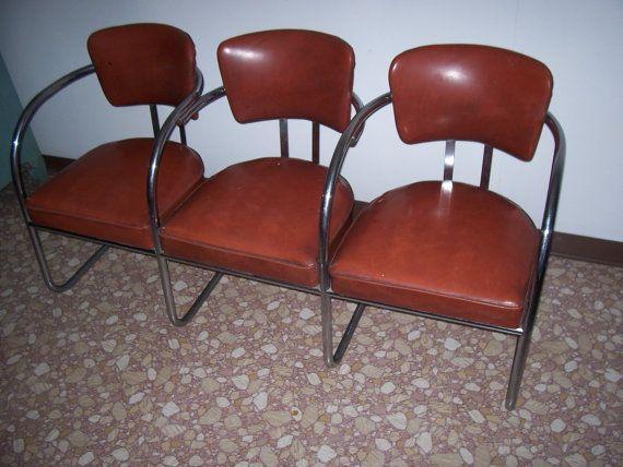 Barber Shop Waiting Room Chrome Chairs Chrome Chair Cool Chairs Chair