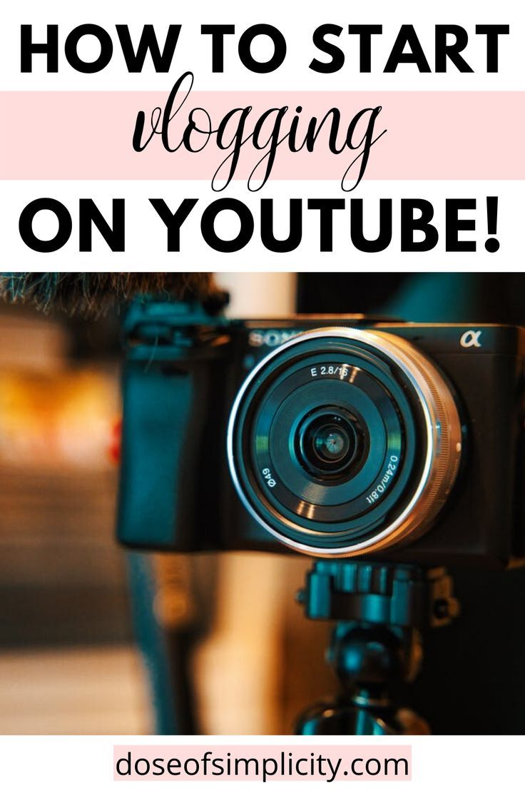 How to Start Vlogging on Youtube This Year! in 2020