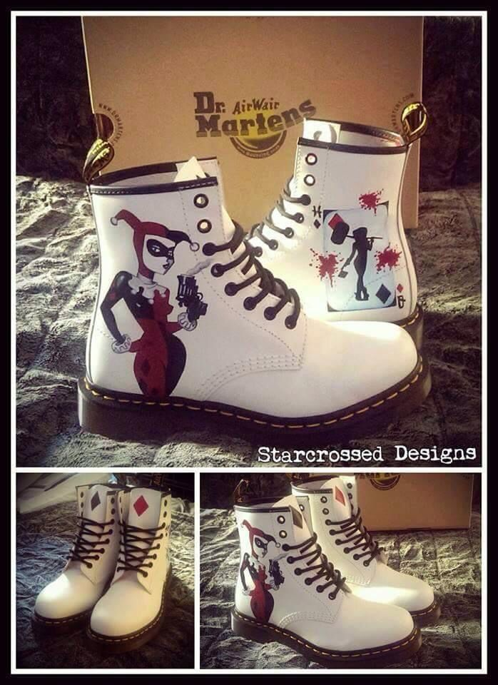 Harley Quinn Dr. Marten Boots