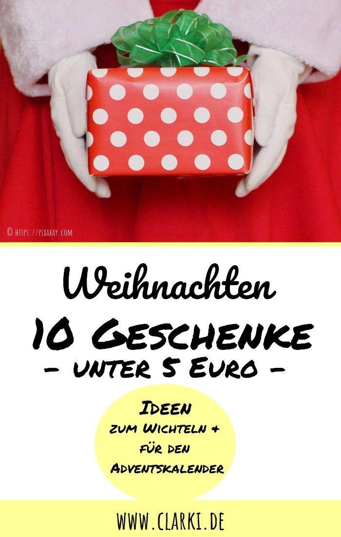 10 kleine Weihnachtsgeschenke unter 5 Euro (enthält ...