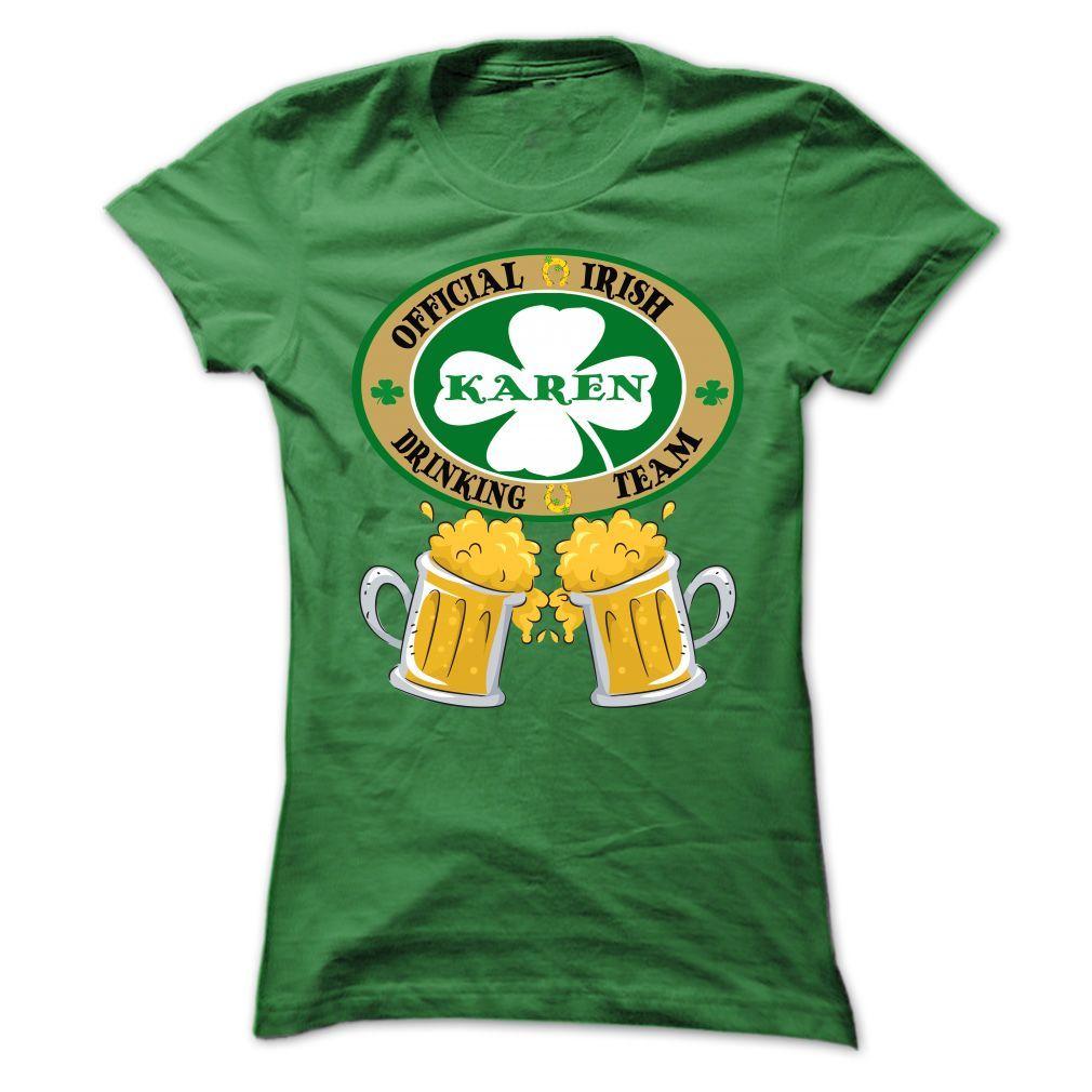 Karen Drinking Team T-Shirts, Hoodies, Sweaters