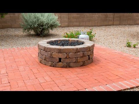 YouTube how to build and install a gas fire pit. Diy step ...