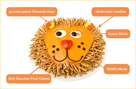 Absolutely Amazing DIY Birthday Cakes Diy Birthday Cake DIY - Lion birthday cake design