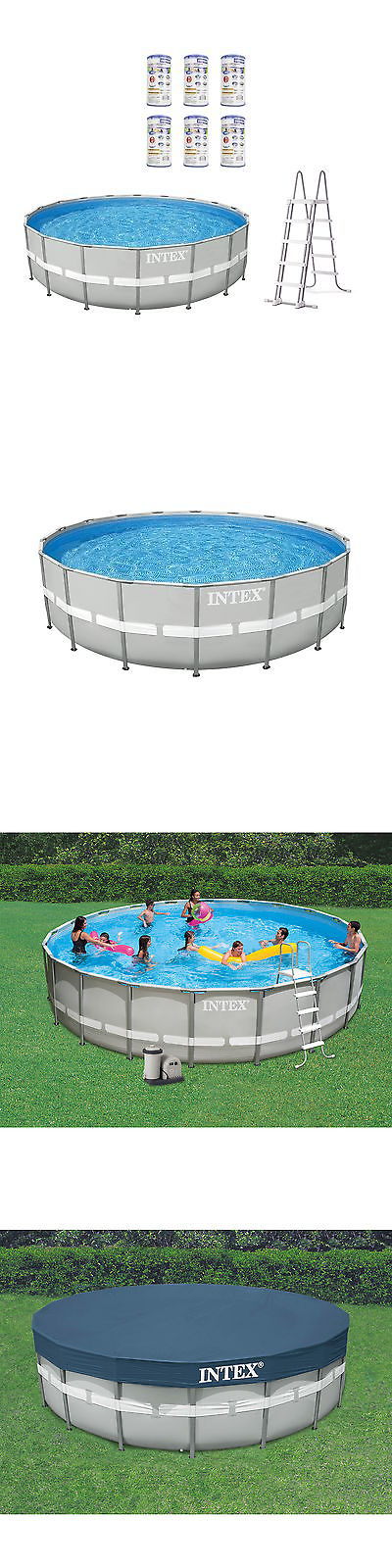 Above Ground Pools 116405: Intex 20 X 4 Ultra Frame Above Ground .