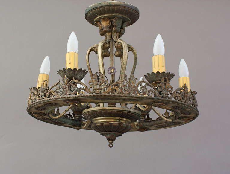 1stdibs Com Large Spanish Revival Chandelier Custom Chandelier