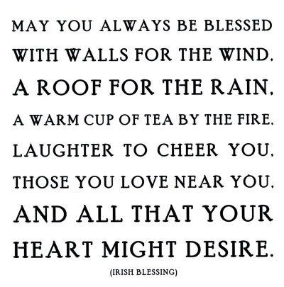 Irish blessing for the New Year | Irish proverbs | Pinterest | Irish ...