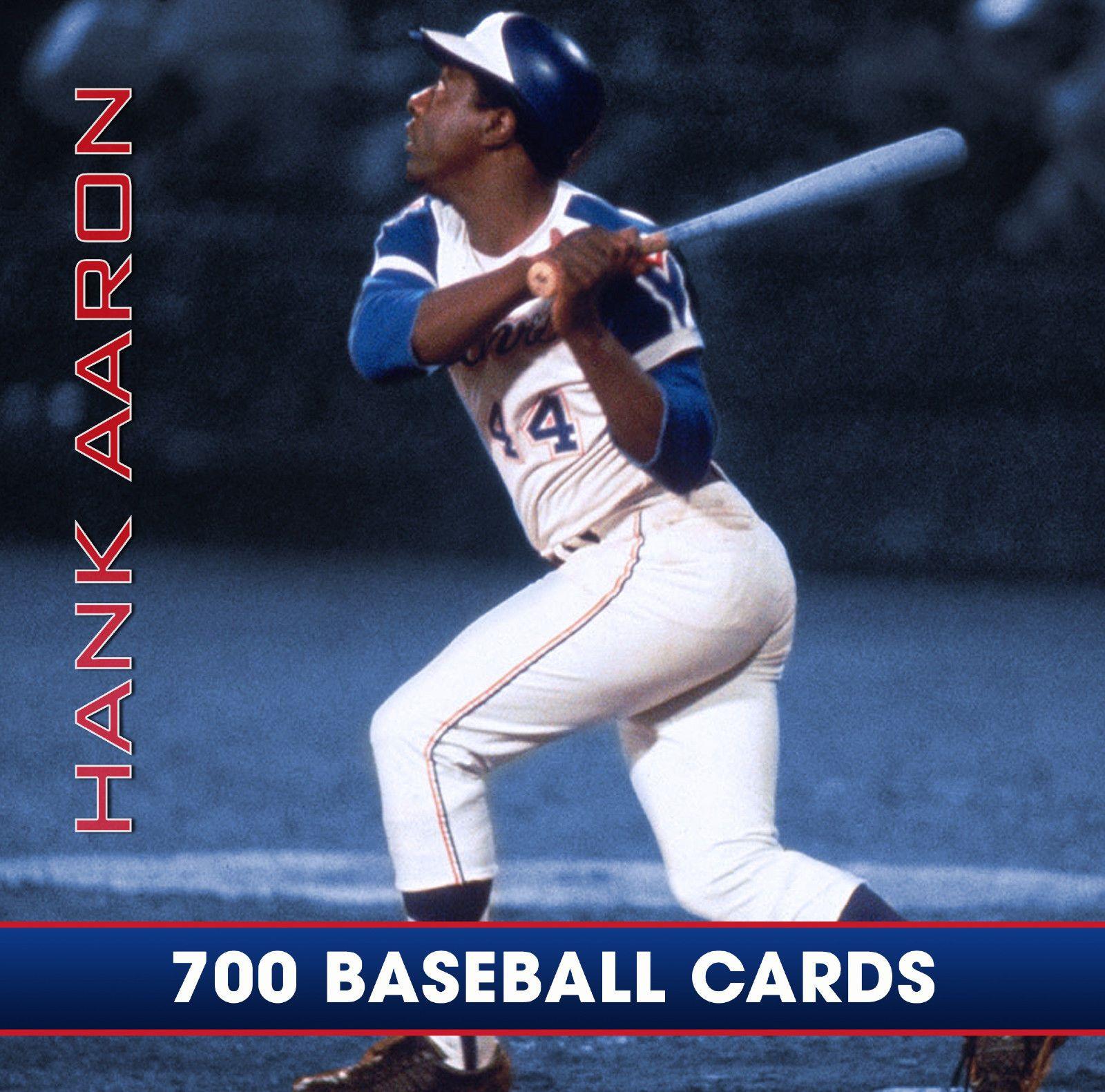 hank aaron baseball card ebay