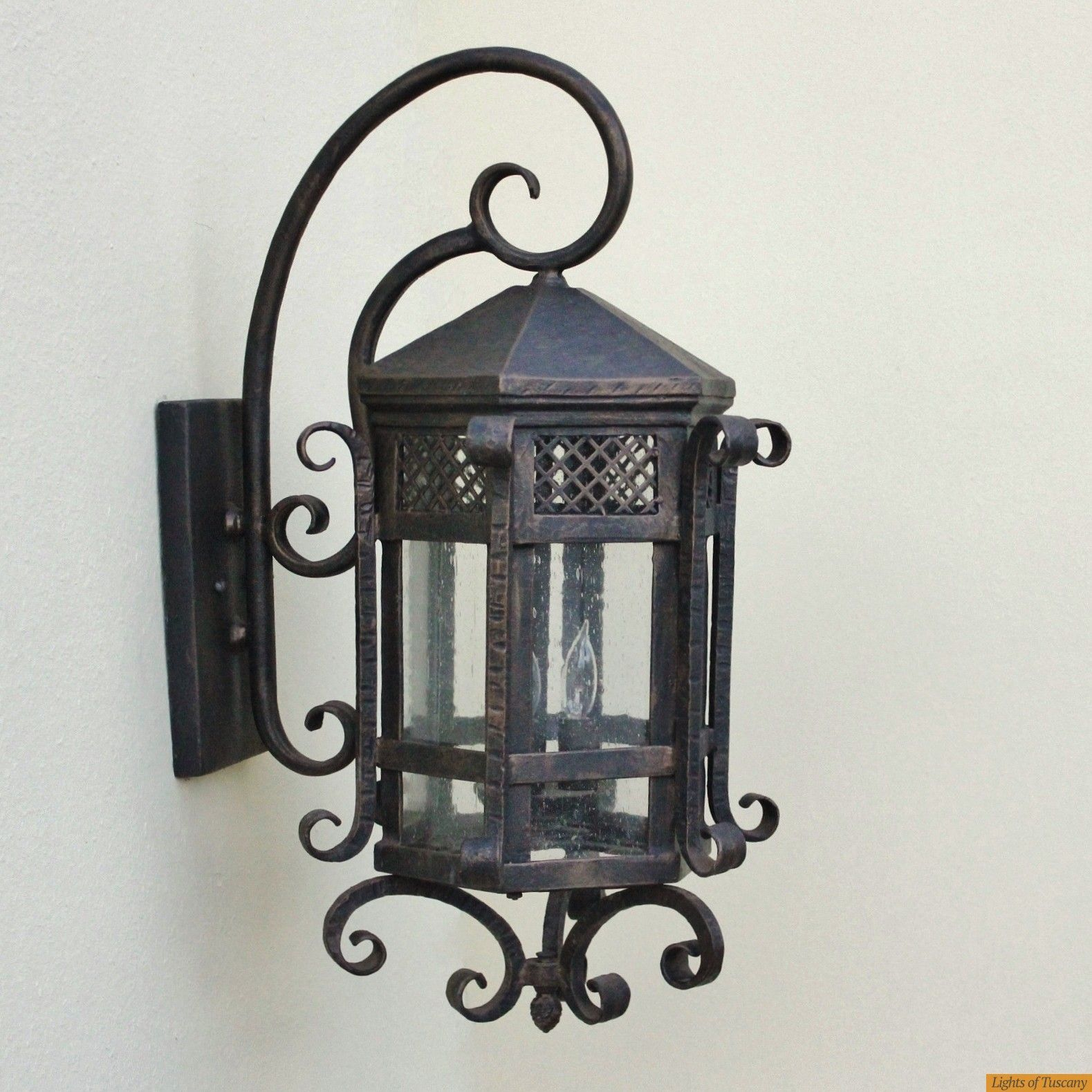 Tuscan Outdoor Exterior Wall Lantern Fixture   Tuscan ...