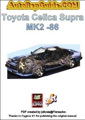 Download free toyota celica supra mk2 86 manual repair download free toyota celica supra mk2 86 manual repair maintenance and installation fandeluxe Gallery
