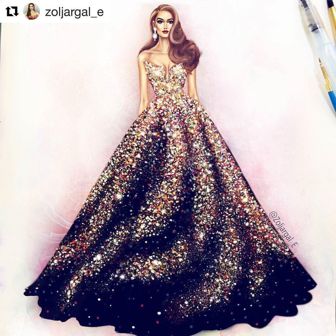 Pin By Mamuna On Art Fashion Illustration Dresses Fashion Drawing Dresses Dress Design Sketches