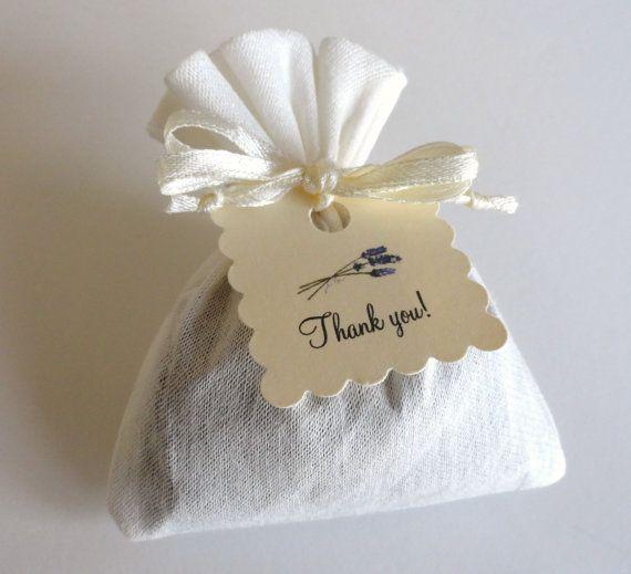French Lavender Sachet Party Favors, Bridal Shower Favor, Wedding Favor, Birthday Party Favor, Baby Shower Party Favor, with or without tag