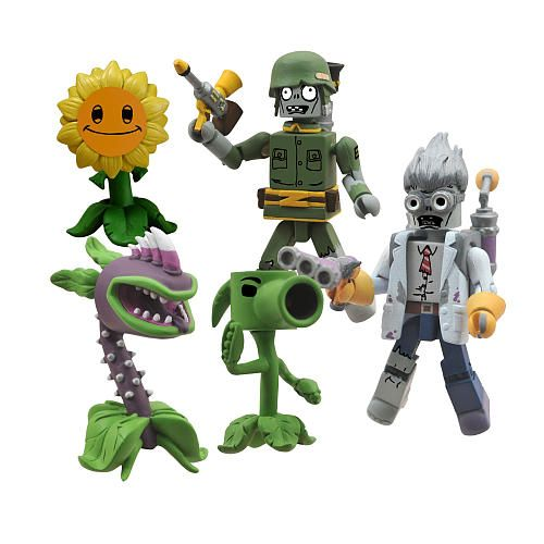 Plants Vs Zombies Garden Warfare Minimates Box Set Diamond Select Toys Toys R Us Plants