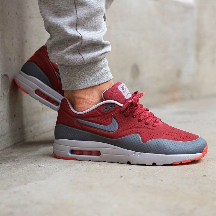 sale retailer 1a667 a7d8f  nike Air Max 1 Ultra Moire Cedar Dark Grey Wolf Grey. Photo    asphaltgold sneakerstore