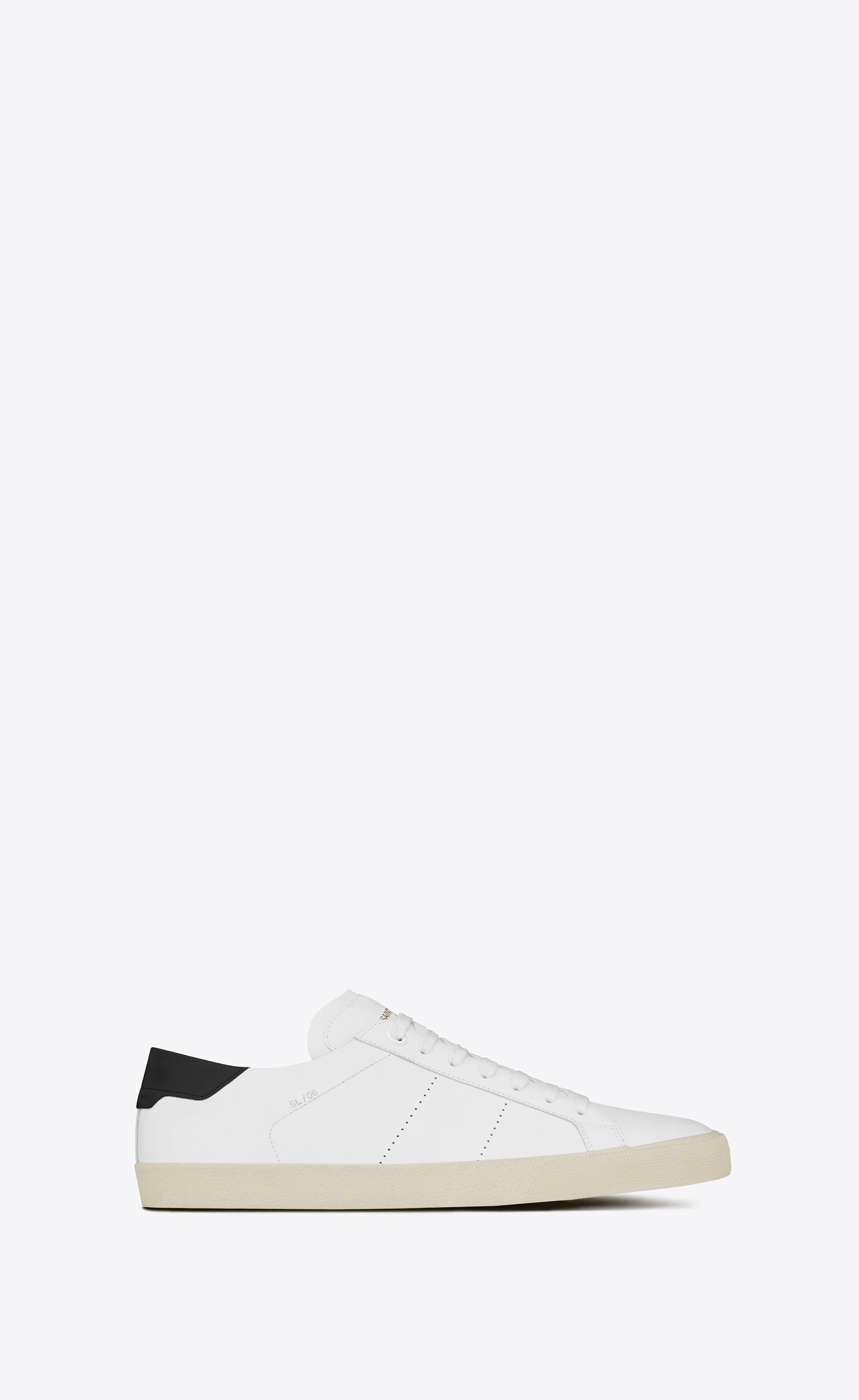 dccbe92f5cf3  Saint Laurent Court Classic Sl 06 Sneaker In Leather