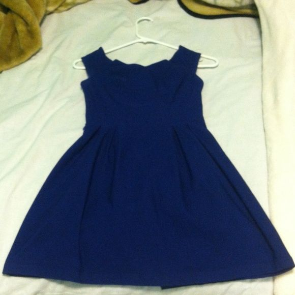 Short Charlotte Russe Dress Dark Blue. Short. No Flaws or Damages. Perfect Condition. Worn 1 time. Charlotte Russe Dresses Mini