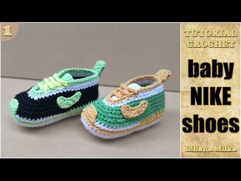 0dcd3230a Tênis Nike em crochê - YouTube
