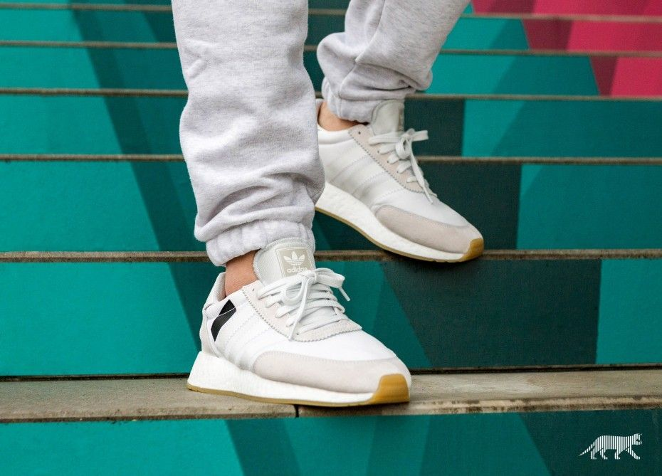 adidas I-5923 Boost Crystal White.