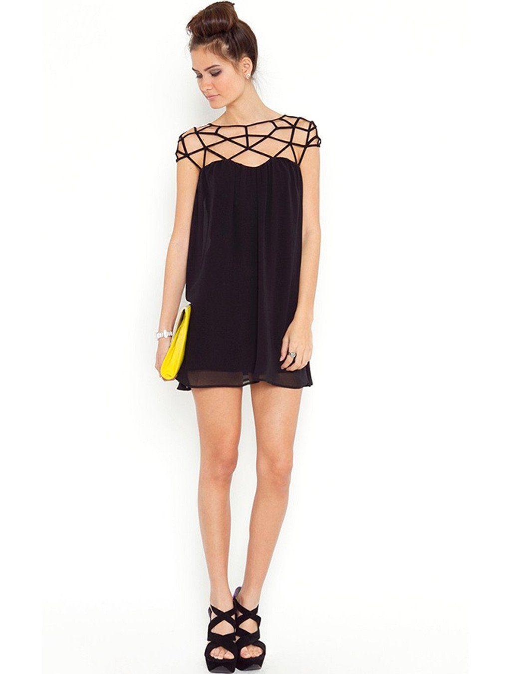Miami Hollow Out Mini Dress