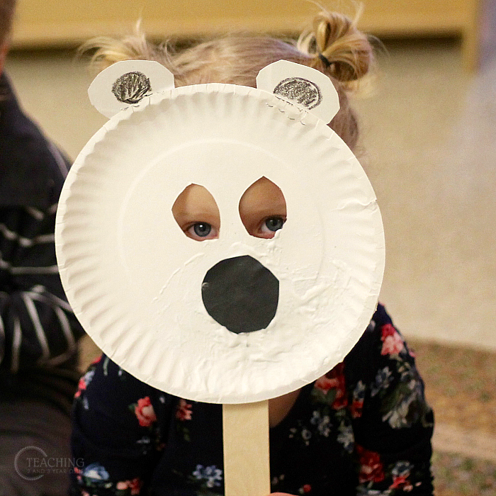 Photo of How to Make Polar Bear Masks for a Toddler Winter Activity