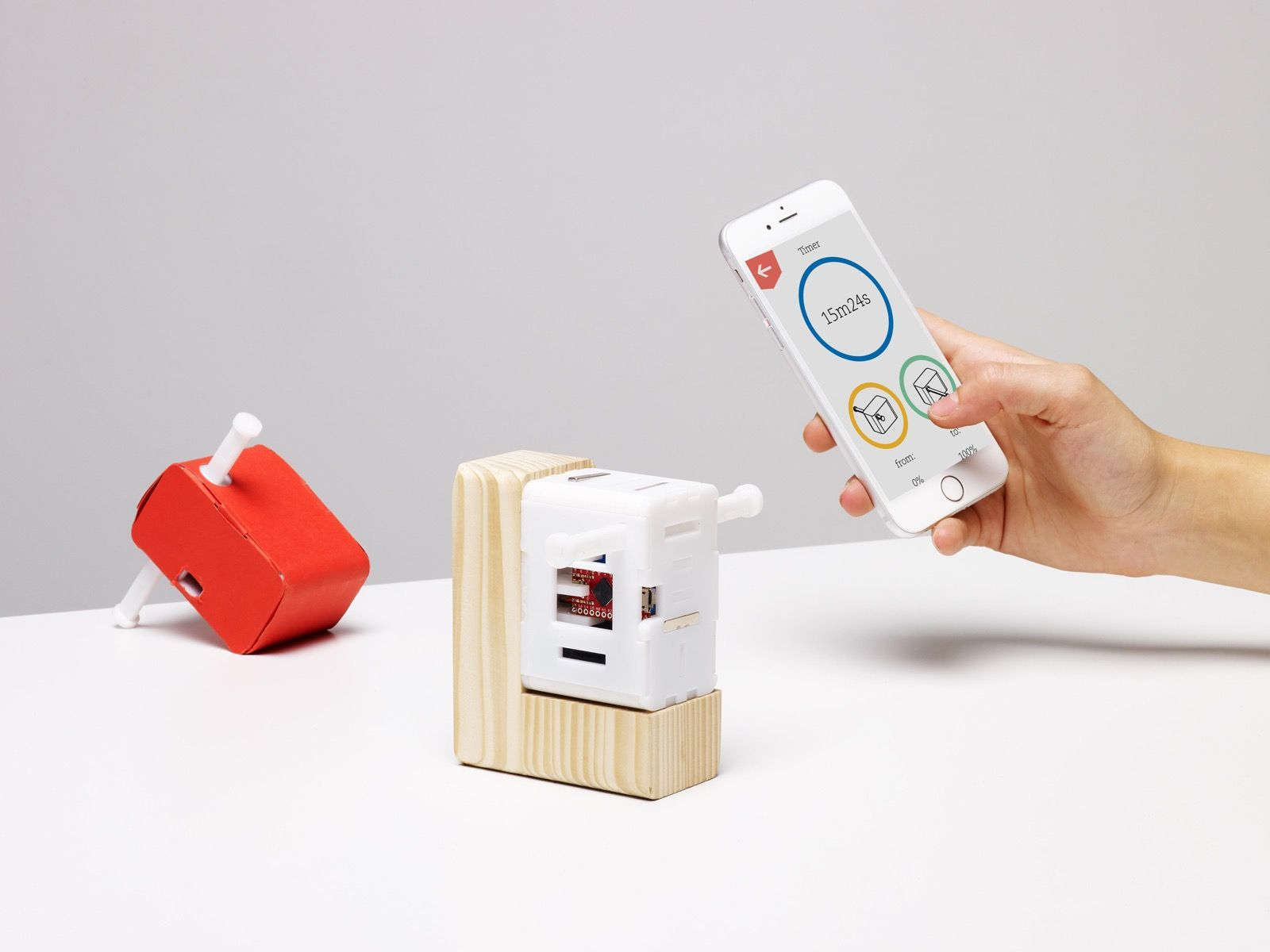 Nelson Tiny Device That Helps Push A Switch On Everyday Objects Interactive Design Everyday Objects Objects
