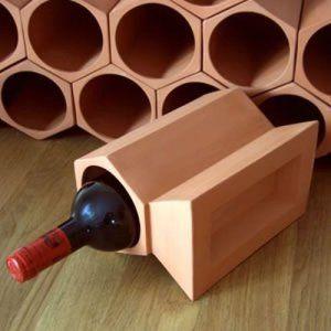 Casier A Vin En Terre Cuite Cle Paquet Pierre 12 Terre Cuite Casier Vin Vin
