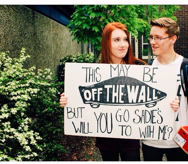 How I asked my boyfriend to Sadie's❤️ I purchased a pair of vans for him to go with the sign #hocoproposals