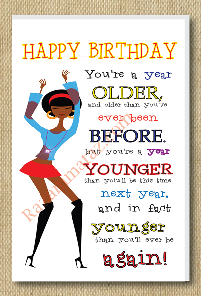 Birthday Ecards African American ~ African american girl a year older birthday card http tipsalud wishes