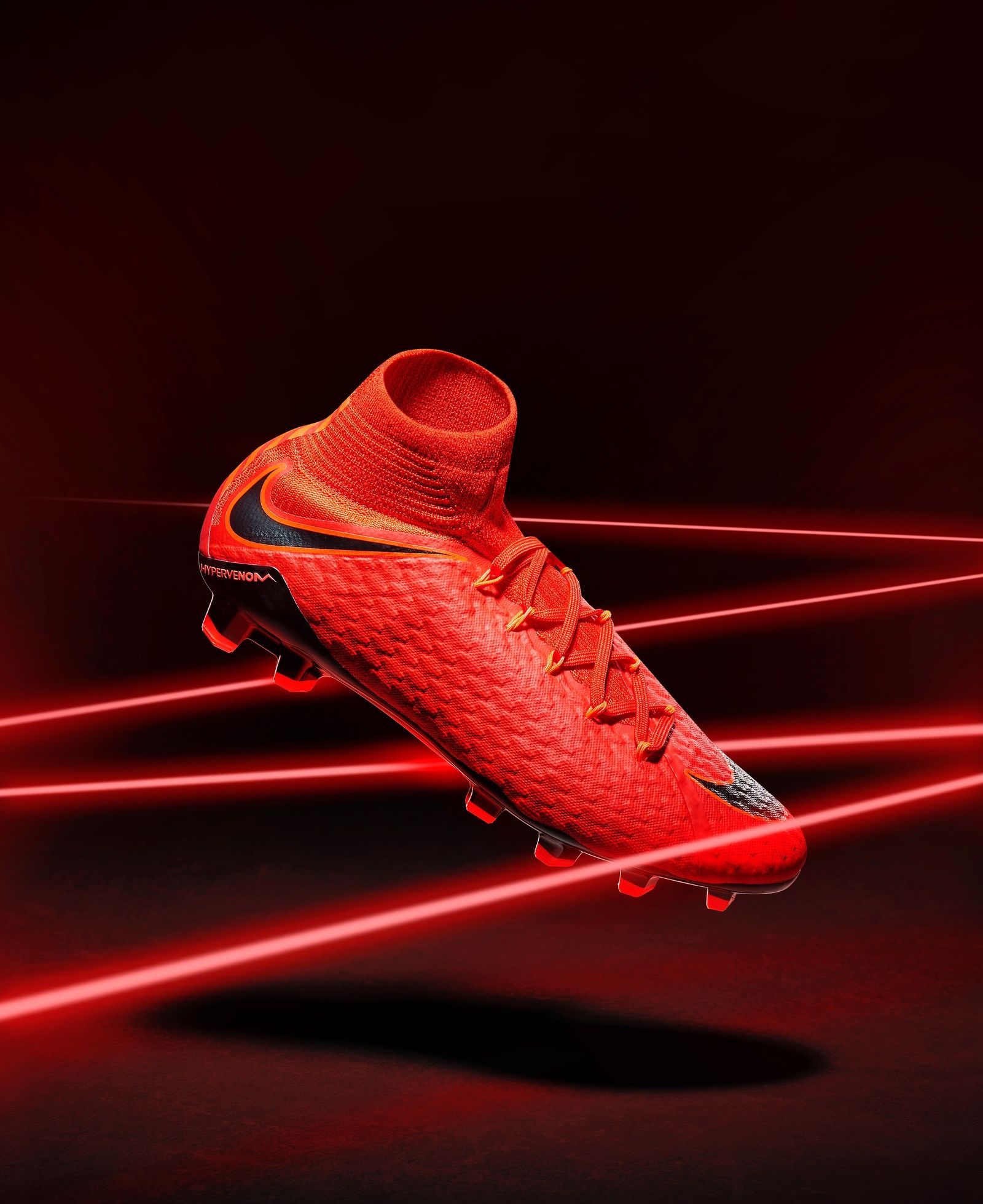 763041ce3fb4 Nike HyperVenom Football Boots. Still life advertising photography by Pete  Oakley