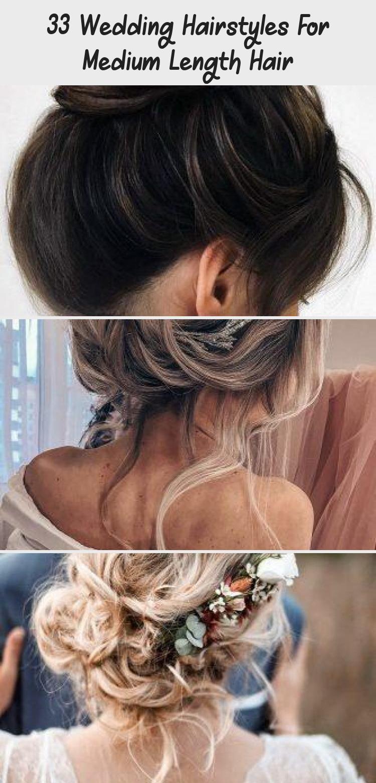 8 Hochzeitsfrisuren für mittellanges Haar - HairStyles
