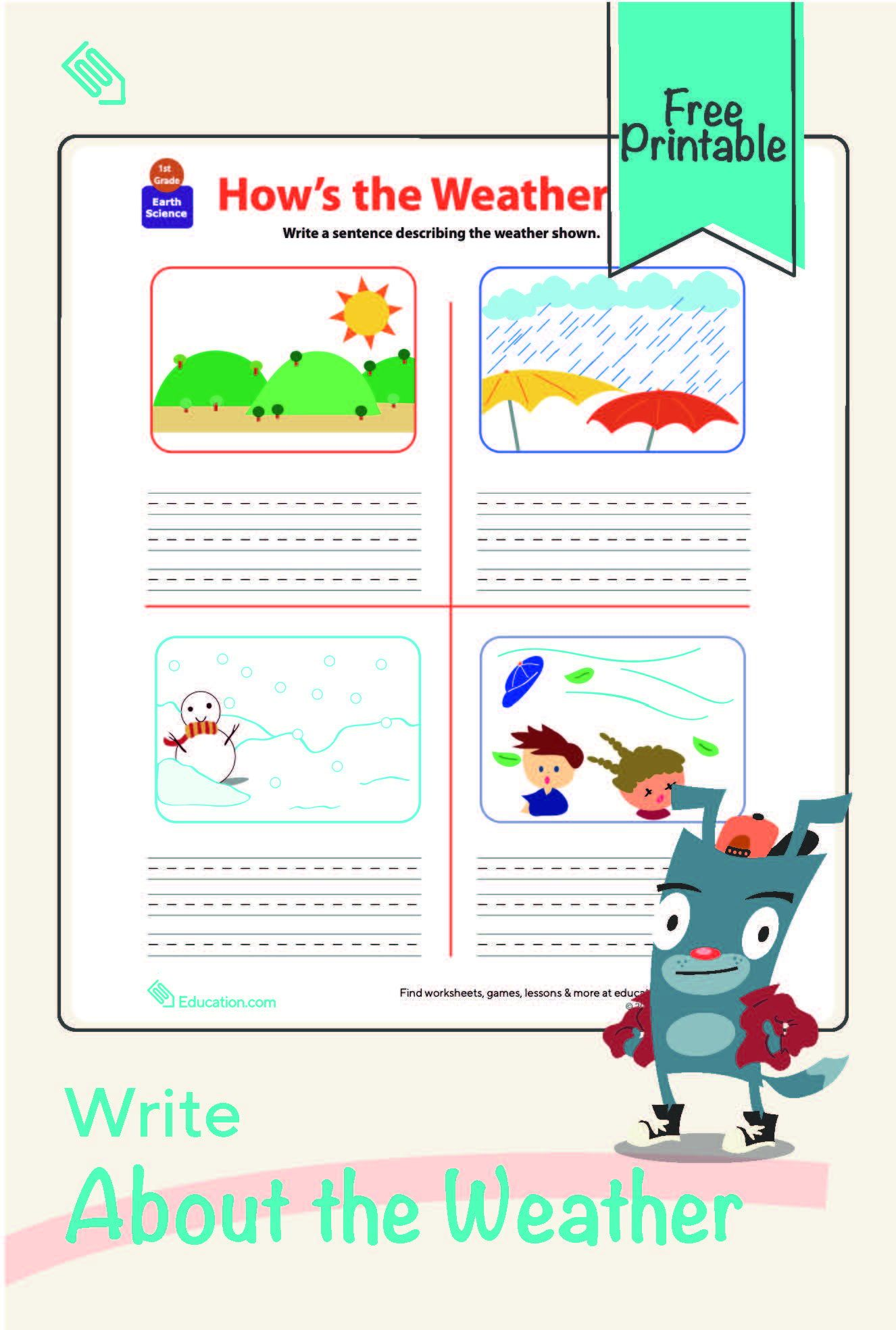 Write About The Weather