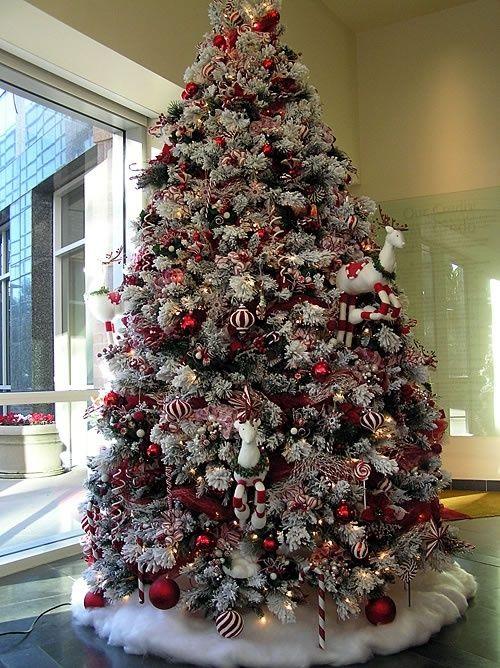 Rbol de navidad del bast n de caramelo navidad i del chocolate navidad pinterest - Comprar arboles de navidad decorados ...