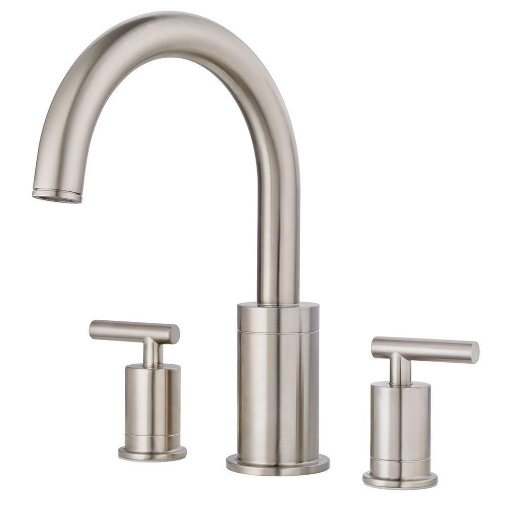 Pfister Contempra 2Handle Higharc Deck Mount Roman Tub Faucet Unique Pfister Bathroom Faucet Design Inspiration