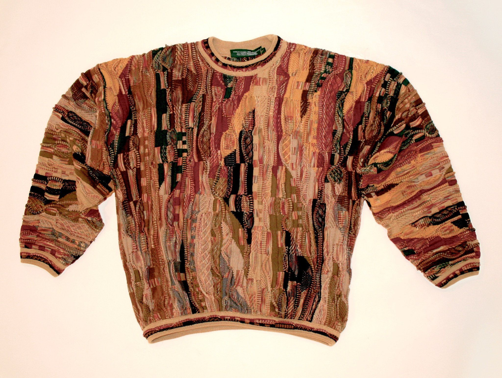 Vintage Tundra Canadian Mens Sweater Men sweater, Sweaters