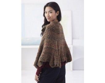 Buttoned Wrap (Crochet)