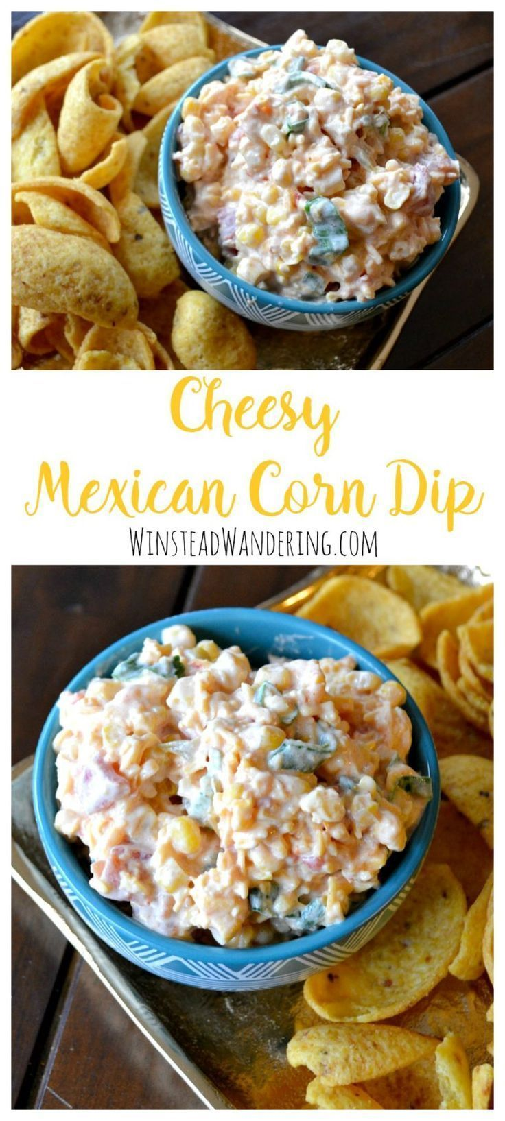 Photo of Cheesy Mexican Corn Dip #easyappetizersforaparty Packed with creamy flavor, this…